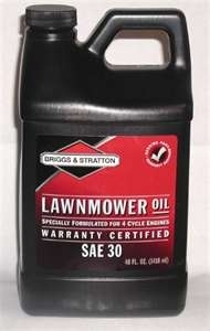 Oil 30 W Briggs Engine Oil