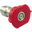Nozzle Quick Connect Tip Red 0 Degree