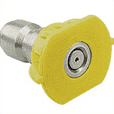 Nozzle Quick Connect Yellow 15 Degree