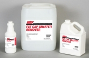 Fat Cap Graffiti Remover - Brick, Masonry & Concrete  1 Gallon