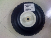 "10"" Tire & Wheel 4.10/3.50-4 with  3/4"" Nylon Bearing"