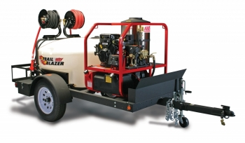 Trail Blazer Hotsy Trailer with 1075BE Pressure Washer