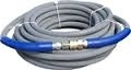 3/8 in. X 50 ft. 4000 PSI R1 Grey Hose Non-Marking with Quick Connects