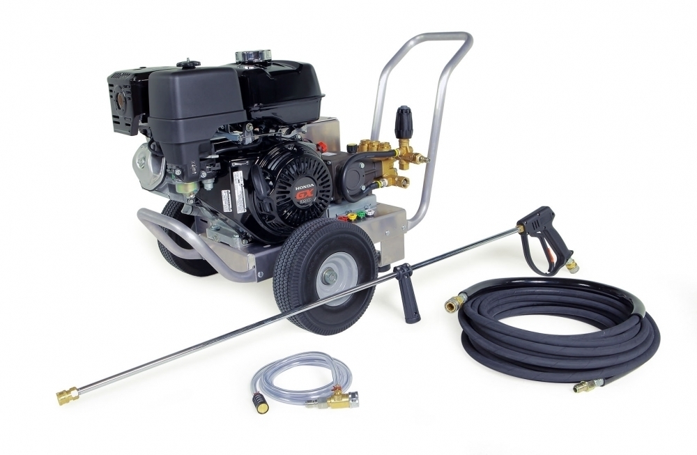 Cold Water Pressure Washer 4 GPM @ 4000 PSI Commercial Belt Drive |  Hot-Wash Atlanta